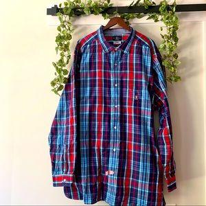 • psycho bunny • plaid flannel shirt 4XLT
